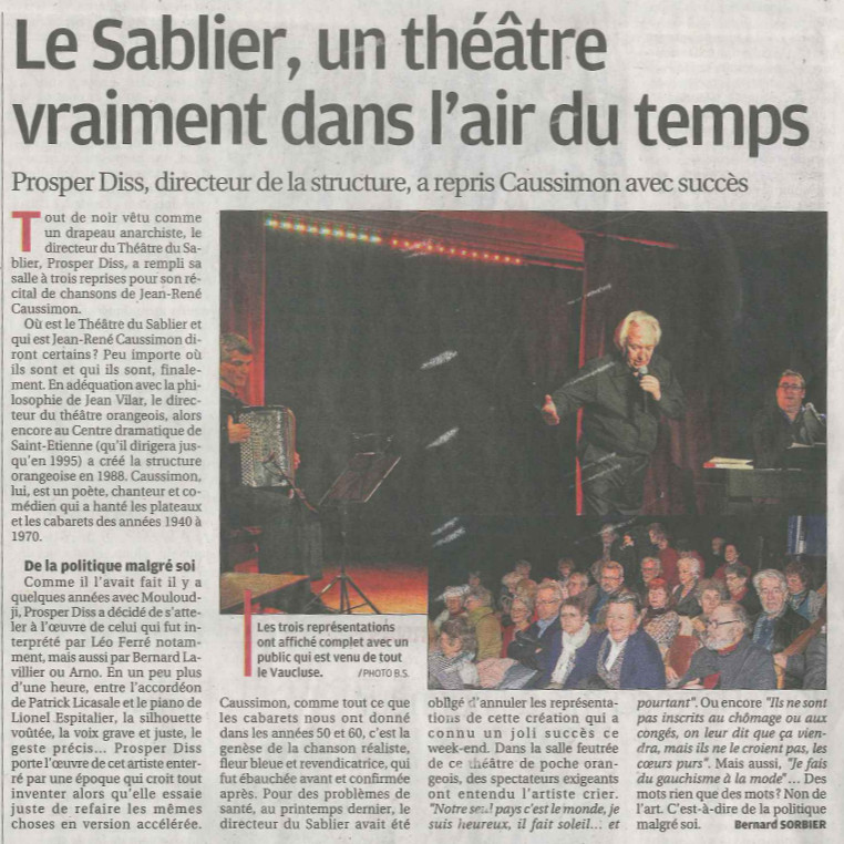 article LaProvence 23 01 2018